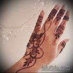 Фото тату Узоры хной (tattoo henna) (значение) - пример рисунка - 001 tatufoto.com