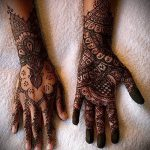 Фото тату Узоры хной (tattoo henna) (значение) - пример рисунка - 003 tatufoto.com