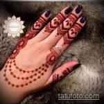 Фото тату Узоры хной (tattoo henna) (значение) - пример рисунка - 004 tatufoto.com