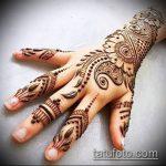 Фото тату Узоры хной (tattoo henna) (значение) - пример рисунка - 012 tatufoto.com