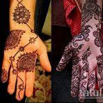 Фото тату Узоры хной (tattoo henna) (значение) - пример рисунка - 014 tatufoto.com