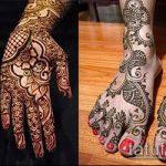 Фото тату Узоры хной (tattoo henna) (значение) - пример рисунка - 015 tatufoto.com