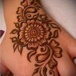 Фото тату Узоры хной (tattoo henna) (значение) - пример рисунка - 017 tatufoto.com