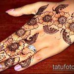 Фото тату Узоры хной (tattoo henna) (значение) - пример рисунка - 018 tatufoto.com