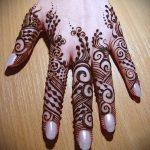 Фото тату Узоры хной (tattoo henna) (значение) - пример рисунка - 019 tatufoto.com