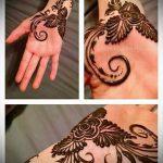 Фото тату Узоры хной (tattoo henna) (значение) - пример рисунка - 021 tatufoto.com