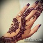 Фото тату Узоры хной (tattoo henna) (значение) - пример рисунка - 026 tatufoto.com