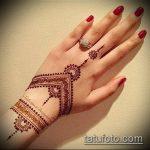 Фото тату Узоры хной (tattoo henna) (значение) - пример рисунка - 028 tatufoto.com