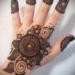 Фото тату Узоры хной (tattoo henna) (значение) - пример рисунка - 031 tatufoto.com