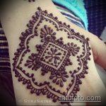Фото тату Узоры хной (tattoo henna) (значение) - пример рисунка - 032 tatufoto.com