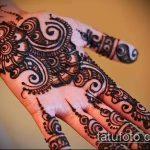 Фото тату Узоры хной (tattoo henna) (значение) - пример рисунка - 035 tatufoto.com