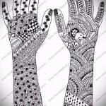 Фото тату Узоры хной (tattoo henna) (значение) - пример рисунка - 036 tatufoto.com