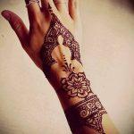 Фото тату Узоры хной (tattoo henna) (значение) - пример рисунка - 037 tatufoto.com