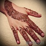 Фото тату Узоры хной (tattoo henna) (значение) - пример рисунка - 039 tatufoto.com