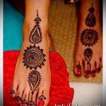 Фото тату Узоры хной (tattoo henna) (значение) - пример рисунка - 043 tatufoto.com