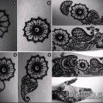 Фото тату Узоры хной (tattoo henna) (значение) - пример рисунка - 050 tatufoto.com