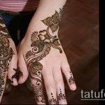 Фото тату Узоры хной (tattoo henna) (значение) - пример рисунка - 051 tatufoto.com