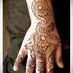 Фото тату Узоры хной (tattoo henna) (значение) - пример рисунка - 052 tatufoto.com