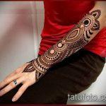 Фото тату Узоры хной (tattoo henna) (значение) - пример рисунка - 055 tatufoto.com