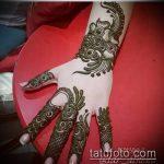 Фото тату Узоры хной (tattoo henna) (значение) - пример рисунка - 057 tatufoto.com