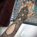 Фото тату Узоры хной (tattoo henna) (значение) - пример рисунка - 061 tatufoto.com