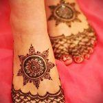 Фото тату Узоры хной (tattoo henna) (значение) - пример рисунка - 063 tatufoto.com