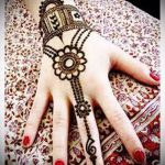Фото тату Узоры хной (tattoo henna) (значение) - пример рисунка - 067 tatufoto.com