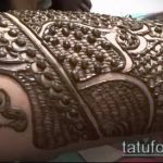 Фото тату Узоры хной (tattoo henna) (значение) - пример рисунка - 071 tatufoto.com
