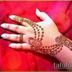 Фото тату Узоры хной (tattoo henna) (значение) - пример рисунка - 073 tatufoto.com