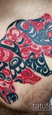 Фото тату Хайда (Tattoo haida) (значение) – пример рисунка – 033 tatufoto.com