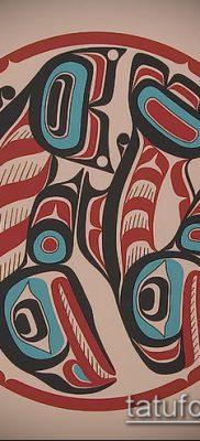 Фото тату Хайда (Tattoo haida) (значение) – пример рисунка – 034 tatufoto.com