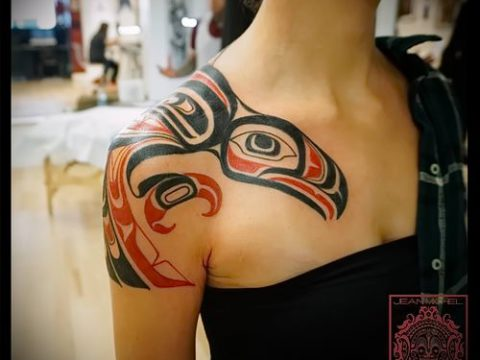 Фото тату Хайда (Tattoo haida) (значение) - пример рисунка - 037 tatufoto.com