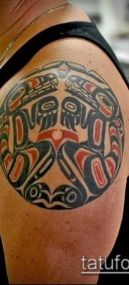Фото тату Хайда (Tattoo haida) (значение) – пример рисунка – 095 tatufoto.com