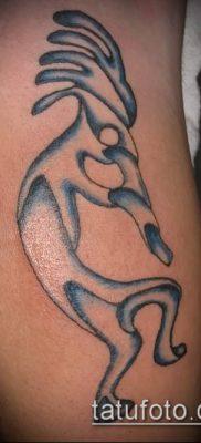 Фото тату кокопелли (Kokopelli tattoos) (значение) – пример рисунка – 004 tatufoto.com