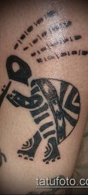 Фото тату кокопелли (Kokopelli tattoos) (значение) – пример рисунка – 021 tatufoto.com