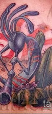 Фото тату кокопелли (Kokopelli tattoos) (значение) – пример рисунка – 049 tatufoto.com