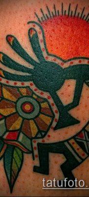 Фото тату кокопелли (Kokopelli tattoos) (значение) – пример рисунка – 051 tatufoto.com