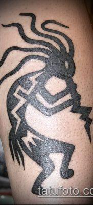 Фото тату кокопелли (Kokopelli tattoos) (значение) – пример рисунка – 092 tatufoto.com
