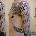 Фото тату лабиринт рисунок (Tattoo labyrin) (значение) - пример рисунка - 001 tatufoto.com