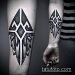 Фото тату лабиринт рисунок (Tattoo labyrin) (значение) - пример рисунка - 025 tatufoto.com