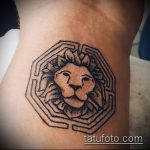 Фото тату лабиринт рисунок (Tattoo labyrin) (значение) - пример рисунка - 036 tatufoto.com