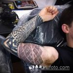 Фото тату лабиринт рисунок (Tattoo labyrin) (значение) - пример рисунка - 041 tatufoto.com