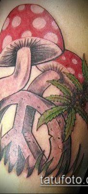 Фото тату марихуанна (Tattoo Marijuana) (значение) – пример рисунка – 006 tatufoto.com