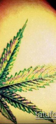 Фото тату марихуанна (Tattoo Marijuana) (значение) – пример рисунка – 017 tatufoto.com