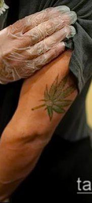 Фото тату марихуанна (Tattoo Marijuana) (значение) – пример рисунка – 029 tatufoto.com