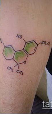 Фото тату марихуанна (Tattoo Marijuana) (значение) – пример рисунка – 033 tatufoto.com