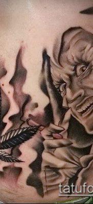 Фото тату марихуанна (Tattoo Marijuana) (значение) – пример рисунка – 041 tatufoto.com