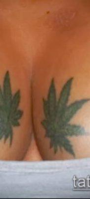 Фото тату марихуанна (Tattoo Marijuana) (значение) – пример рисунка – 049 tatufoto.com