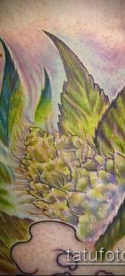 Фото тату марихуанна (Tattoo Marijuana) (значение) – пример рисунка – 065 tatufoto.com