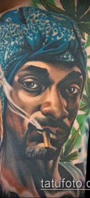 Фото тату марихуанна (Tattoo Marijuana) (значение) – пример рисунка – 091 tatufoto.com